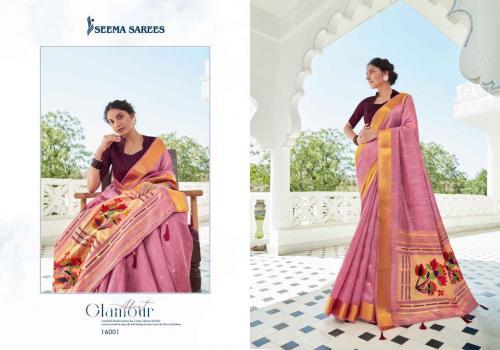 Seema Saree Safarnaama Vol-3 16001-16008 Series
