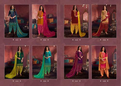 Kessi Fabrics Shangar By Patiala House 5331-5338 Price - 7192