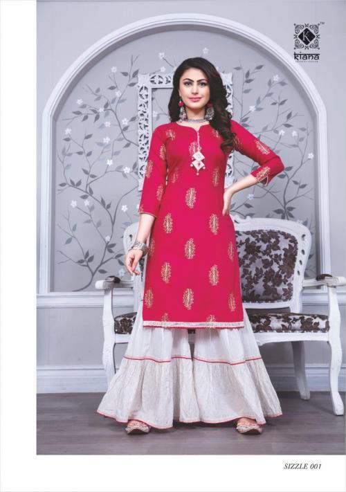 Kiana Fashion Sizzle 001-008 Series