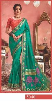 Kessi Fabrics Shagun Silk 5040 Price - 1200