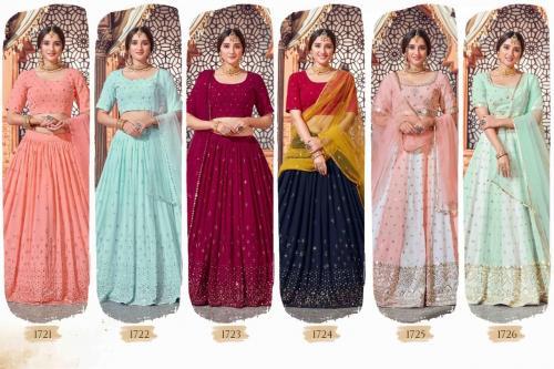 Shubhkala Bridesmaid 1721-1726 Price - 15200