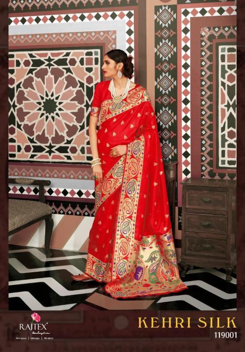 Rajtex Kehri Silk 119001-119006 Series