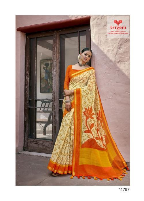 Triveni Saree Globle 11797 Price - 541