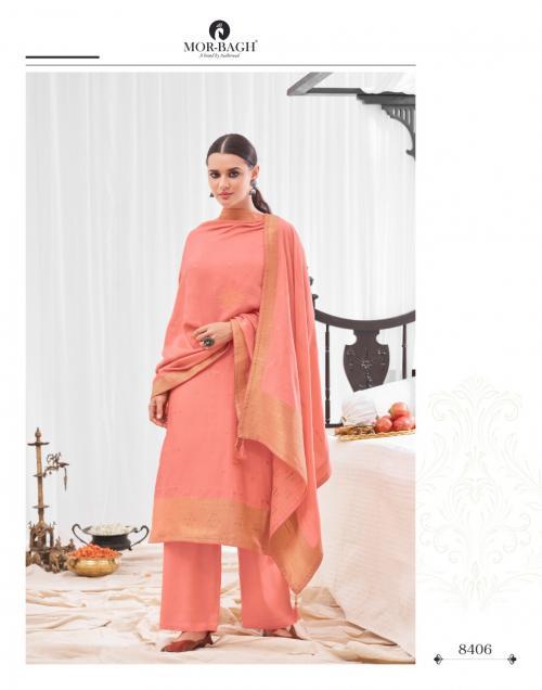Aashirwad Creation Mor Bagh Aaradhaya 8406-8411 Series