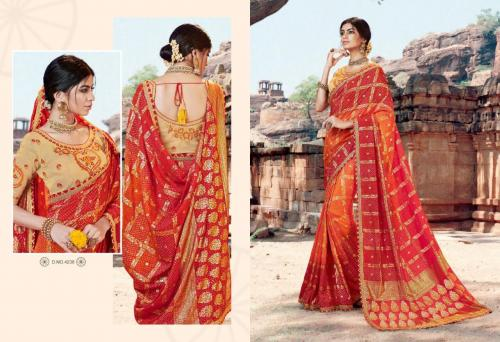 Kessi Fabrics Bandhej 4238 Price - 1199