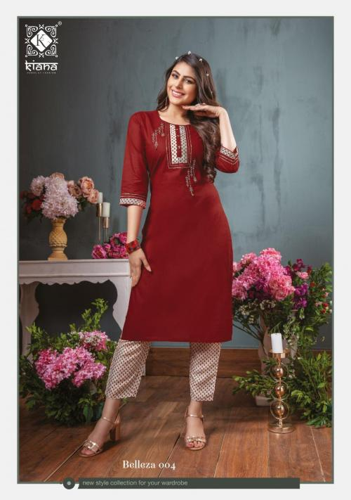 Kiana Fashion Belleza 004 Price - 775