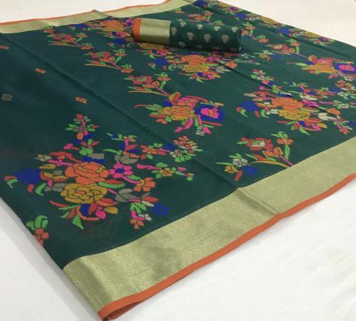 Rajtex Saree Kushambika Silk 154005 Price - 1880