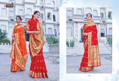 Sangam Prints Adishree Silk 1003 Price - 1575