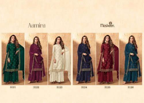 Maisha Maskeen Aamira 3121-3126 Price - 9450