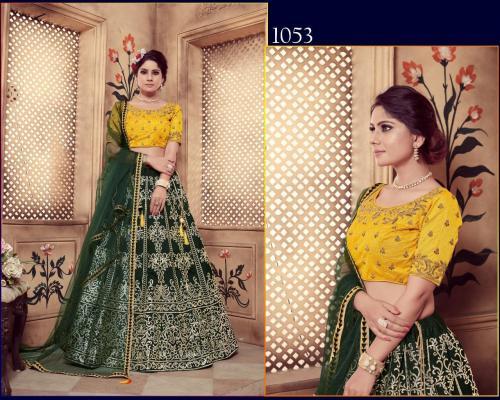Khusboo Lehenga Girly 1053 Price - 3200