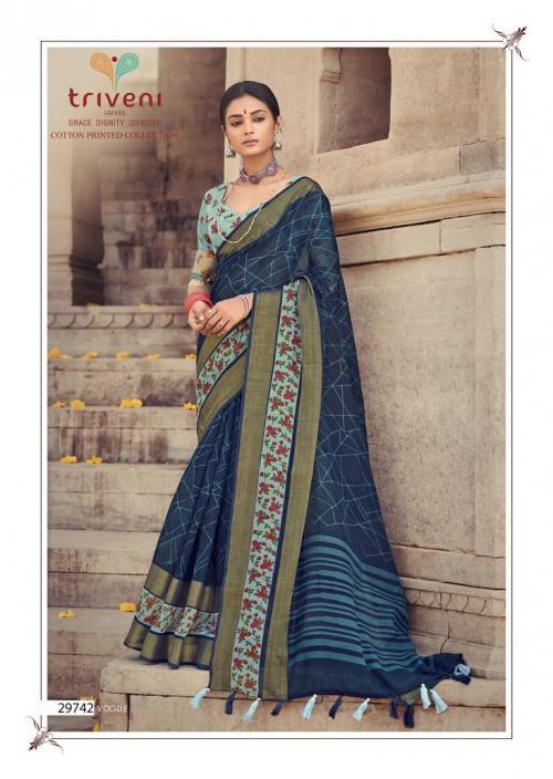 Triveni Saree Ganga Jamuna 29742 Price - 775