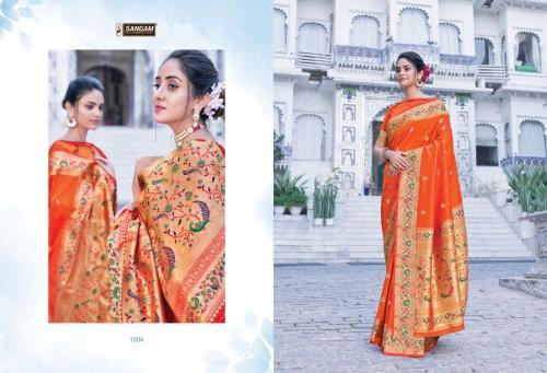 Sangam Prints Adishree Silk 1004 Price - 1575