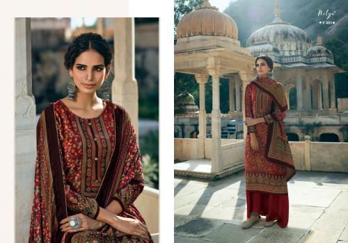 LT Fabrics Nitya Velvet 401 Price - 1660
