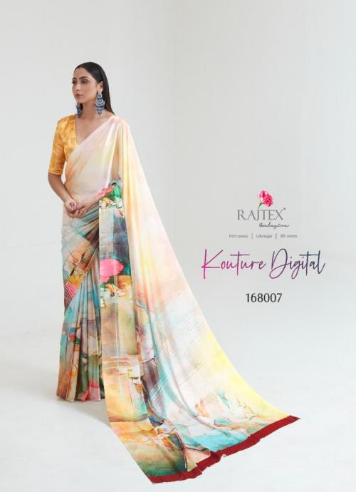 Rajtex Saree Kouture Digital 168007 Price - 1005