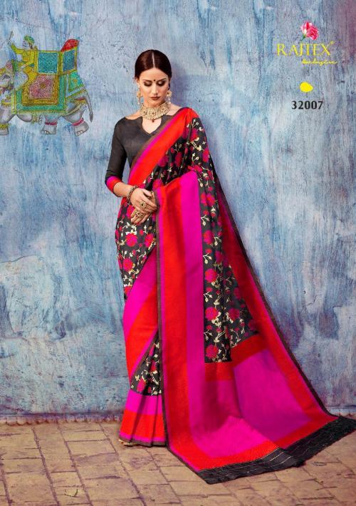 Rajtex Saree 32007 Colors
