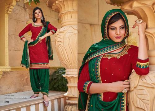 Kessi Fabrics Patiyala House 5743 Price - 899