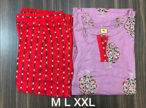 Non Catalog Cotton Kurtis With Pant Collection B Price - 599