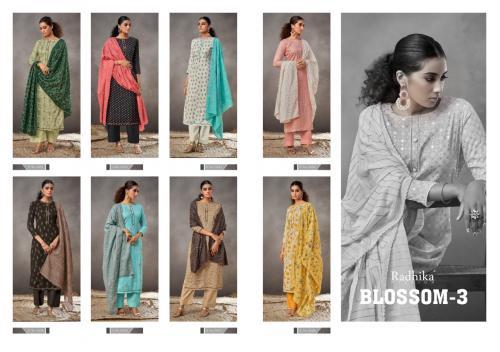 Radhika Fashion Azara Blossom 3001-3008 Price - 5400