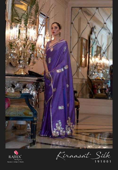 Raj Tex Kiraasat Silk 191001-191006 Series