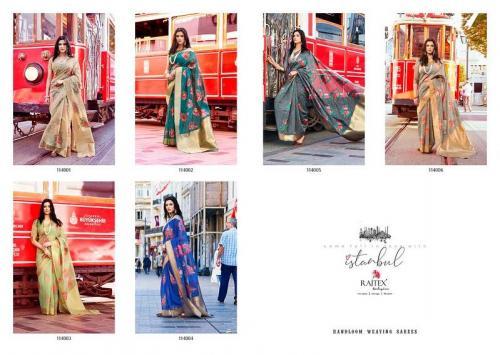 Rajtex Kadhya Silk 114001-114006 Price - 11010