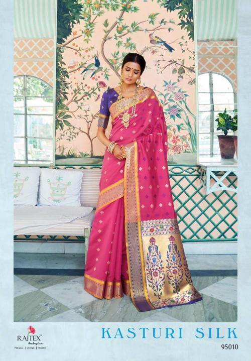 Rajtex Kasturi Silk 95010 Price - 1295