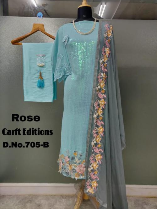 Shanaya Fashion Rose Craft Edition 705-A Price - 1275