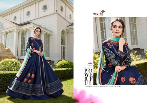 Arihant Vamika Elegant 13002 Price - With Bottom-1825,, Without Bottom-1745