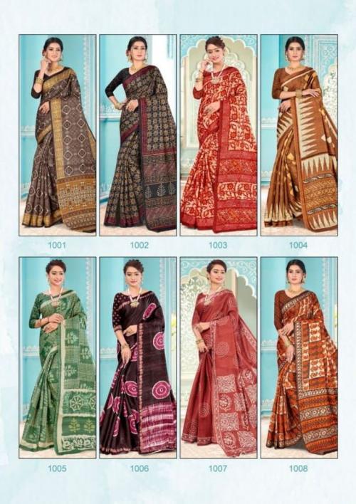 Alveera Khushboo 1001-1008 Price - 11000