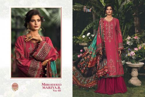 Shree Fabs Mbroidered Mariya B 8141 Price - 1399
