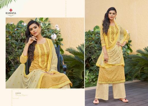 Kessi Fabrics Ramaiya Rose Gold 11054 Price - 699