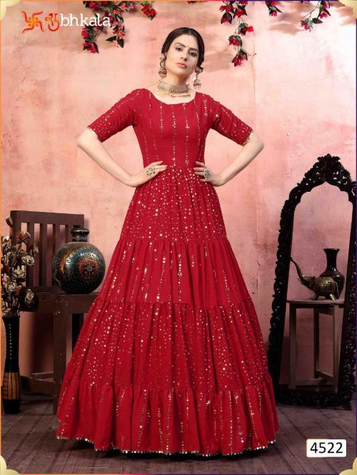 Shubhkala Khusboo Flory 4522 Price - 1700