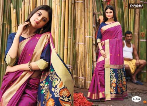 Sangam Prints Aaradhya Handloom 4004 Price - 1125