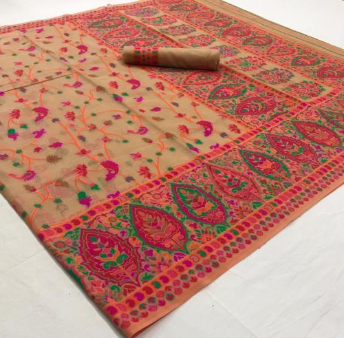Rajtex Saree Khyber Silk 140001-140006 Series