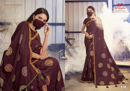 Triveni Saree Gulaboo Vol-3 28171-28178 Series