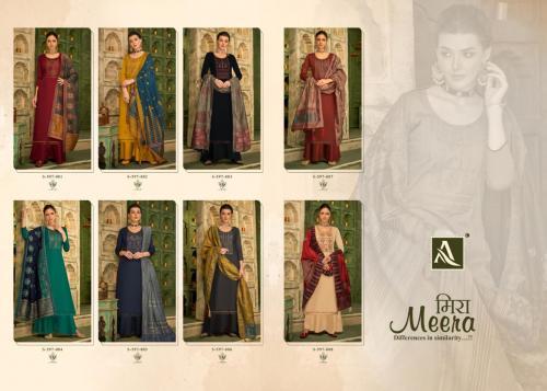Alok Suits Meera 597-001 to 597-008 Price - 7720