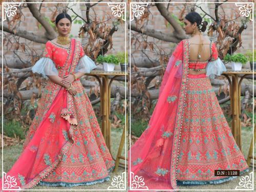 Peafowl Vol-76 Bridal Lehenga 1128 Price - 3533