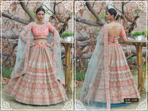 Peafowl Vol-76 Bridal Lehenga 1123 Price - 3533