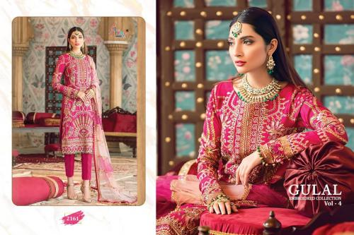 Shree Fabs Gulal Embroidered Collection Vol-4 2161-2166 Series