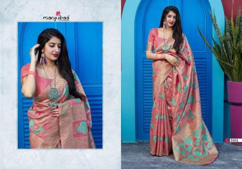Manjubaa Maitri Silk 3501-3506 Series