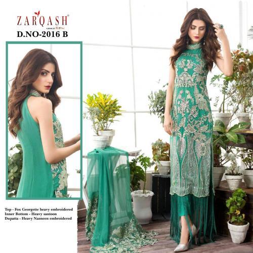 Khayyira Suits Zarqash Faiza 2016-B Price - 1250