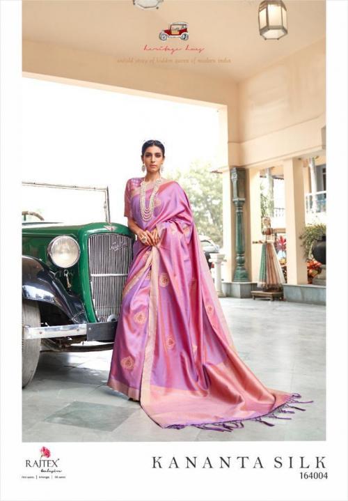 Rajtex Saree Kananta Silk 164004 Price - 1495