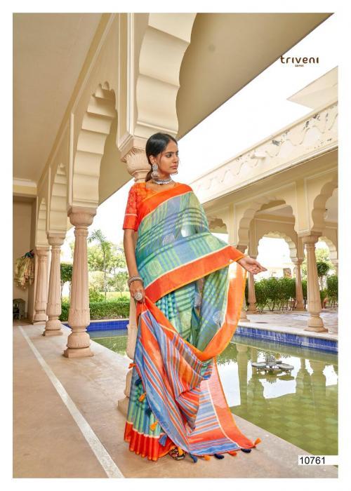 Triveni Saree Alfaaz 10761-10768 Series