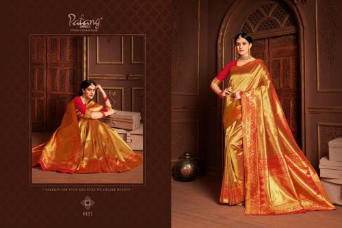 Patang Saree 6151-6158 Series