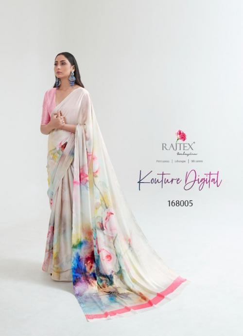 Rajtex Saree Kouture Digital 168005 Price - 1005