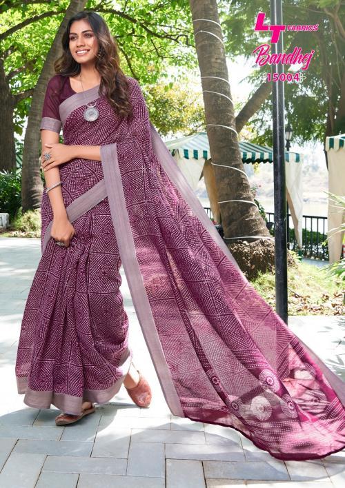 LT Fabrics Nitya Bandhej 15004 Price - 655