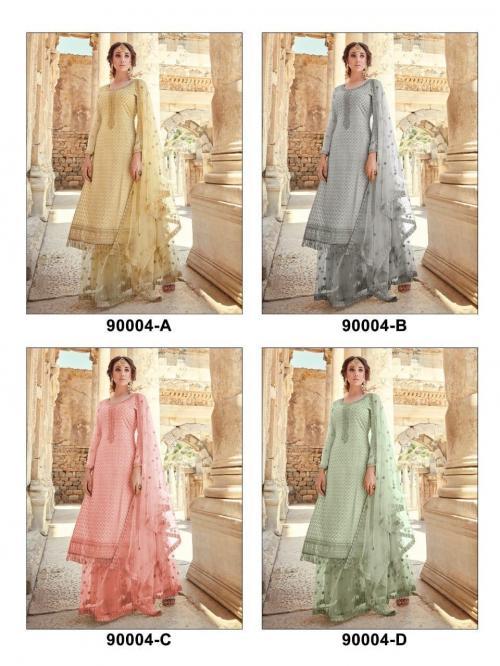 Mohini Fashion Glamour 90004 Colors  Price - 6400