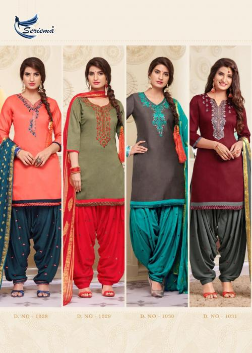 Seriema Patiyala Club 1028-1035 Price - 9560