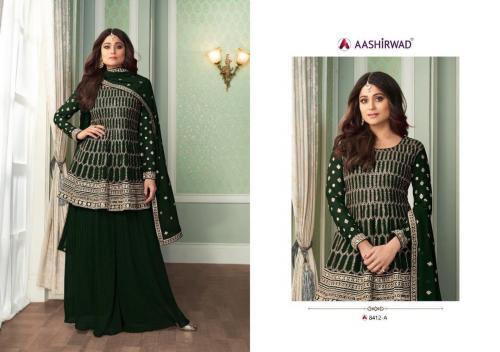 Aashirwad Creation Peplon 8412-A Price - 2495