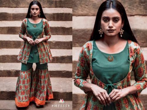 Mesmora Fashion Sharara Set S4