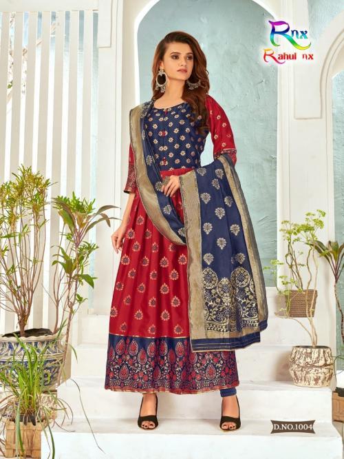 Rahul Nx Minakari Gown 1006 Price - 670